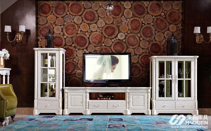 欧式电视柜有哪些风格?大户型欧式风格电视柜介绍