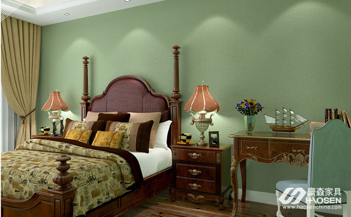 美式家具搭配什么墙纸比较合适呢?不同的墙纸搭配知识