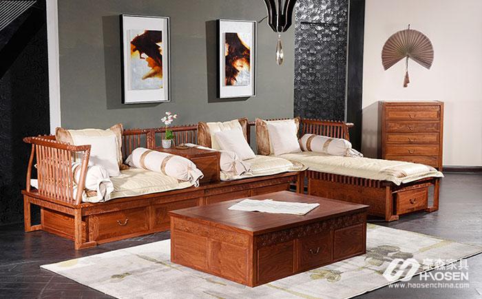 红木定制家具概念逐渐走进家具行业