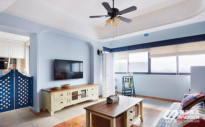 美式家具地中海风格的混搭带你享受不同的境界