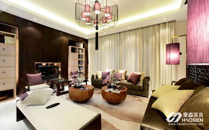 用现代美式风格装修打造出一个暖心舒适的家