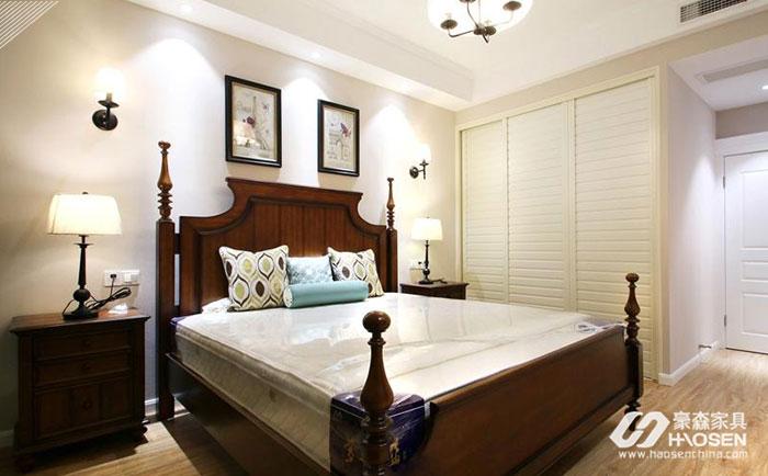 美式家具跟衣柜怎么搭配?美式家具搭配衣柜图片赏析