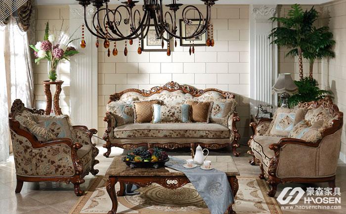 深色欧式家具要注意空间风格搭配