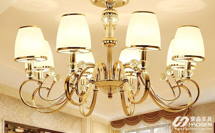 欧式水晶吊灯如何搭配家居?欧式水晶吊灯搭配技巧介绍