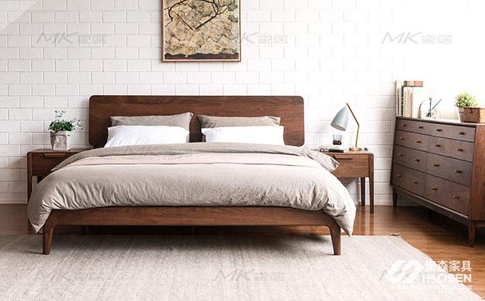 北欧风格次卧的家具摆放