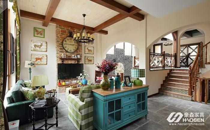 欧式现代风格家具整体空间搭配