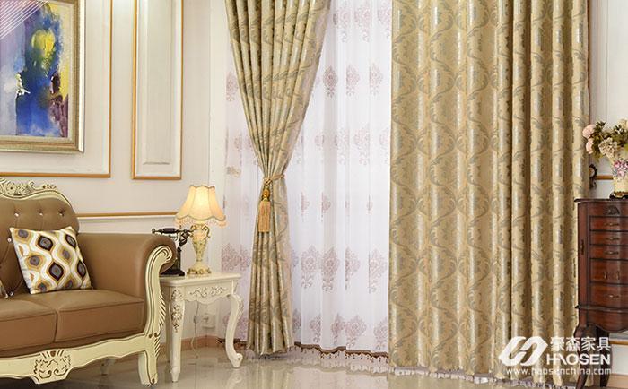 欧式软装的窗帘质地