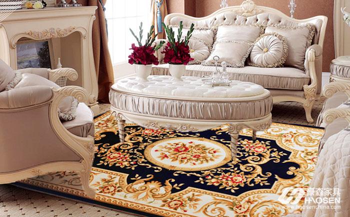 欧式软装地毯选择