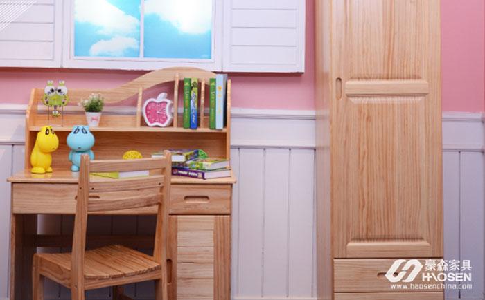 活泼好动型儿童松木家具颜色搭配