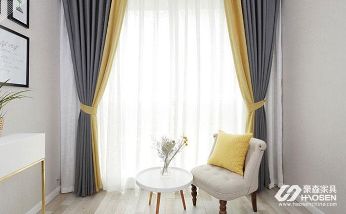 欧式风格白色家具窗帘搭配八大技巧