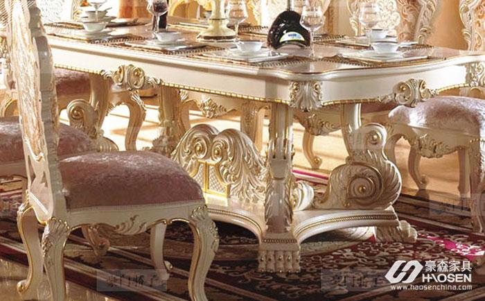 定做欧式实木家具拥有保值功能